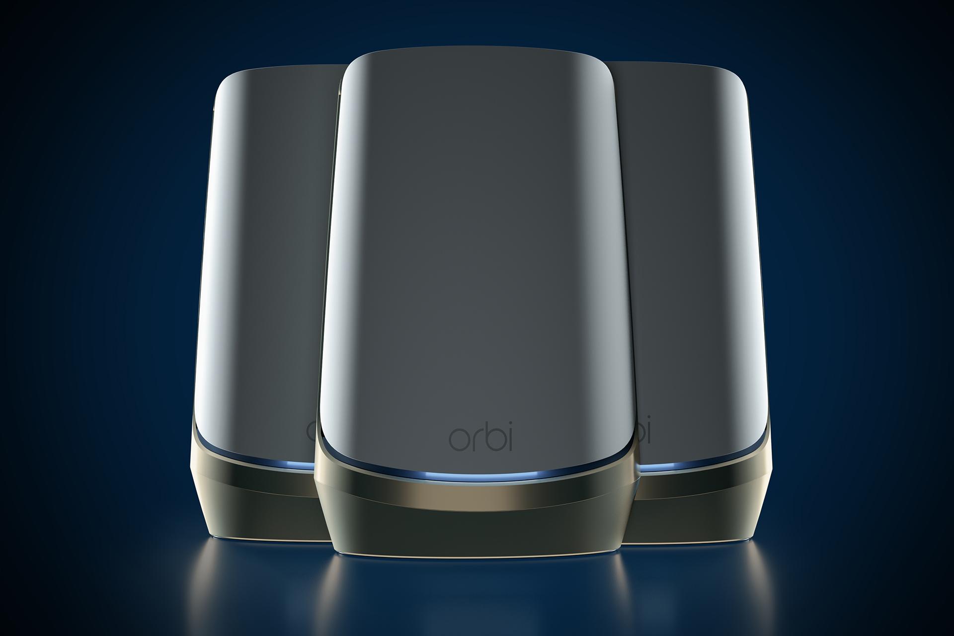 Netgear Orbi Quad-band WiFi 6E mesh router