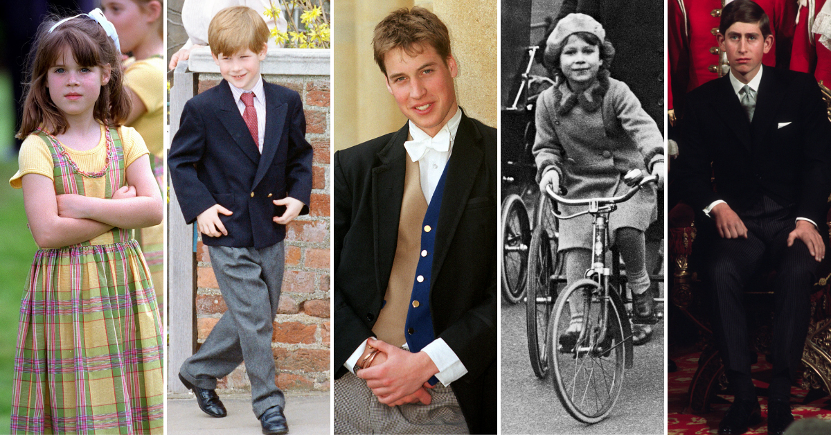 The royal family then and now: How they've changed over the years