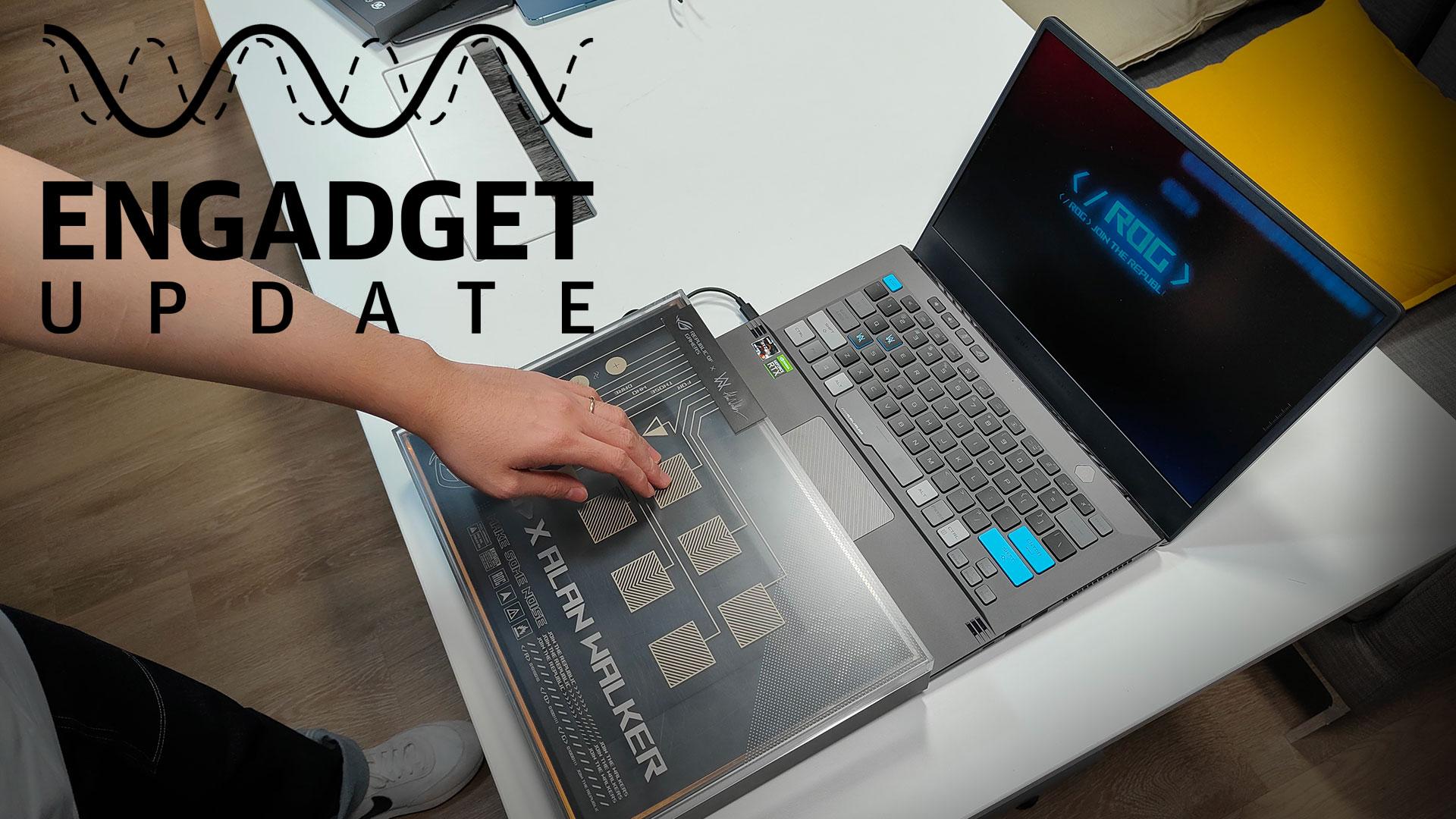 ASUS 的筆電設計都相當具特色,今天 Engadget Update 節目就為大家開箱試試看兩款外觀、規格都非常亮眼的機型:ASUS ROG Flow X13、Alan Walker 聯名 Zephyrus G14 AW SE。一款是使用專屬連接盒,讓小小筆電都可以有市場上最強大 GPU RTX 3090 加持;一款就是融入各種炫目元素,讓筆電輕鬆變身 DJ 台!