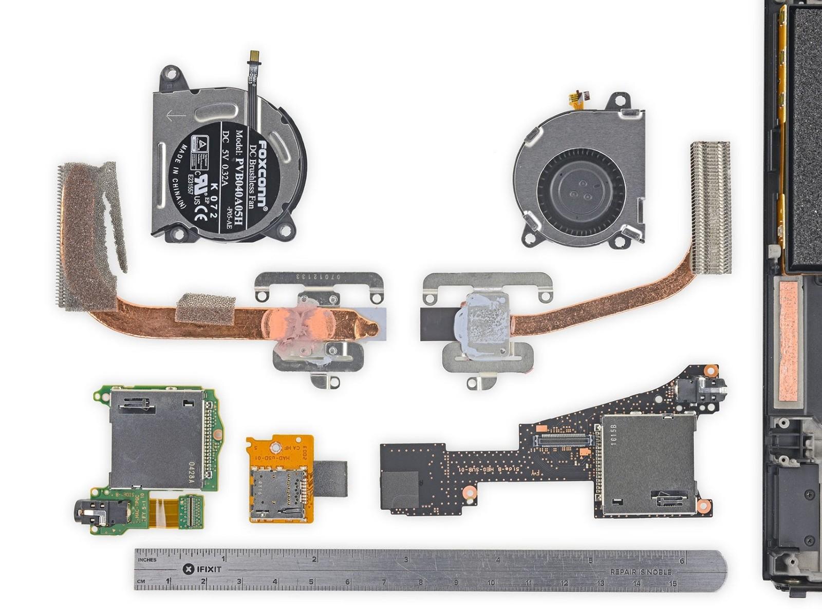 OLED Switch teardown