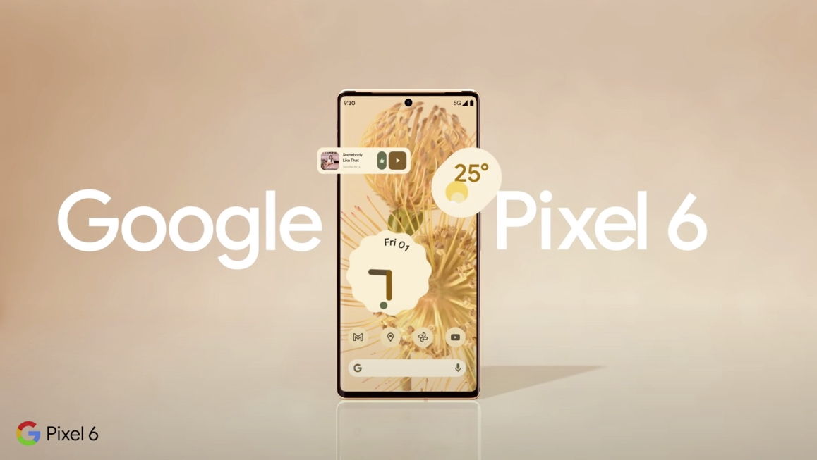 "Google Japan Releases Pixel 6's New Teaser Video ""Comming Soon""-GLM"