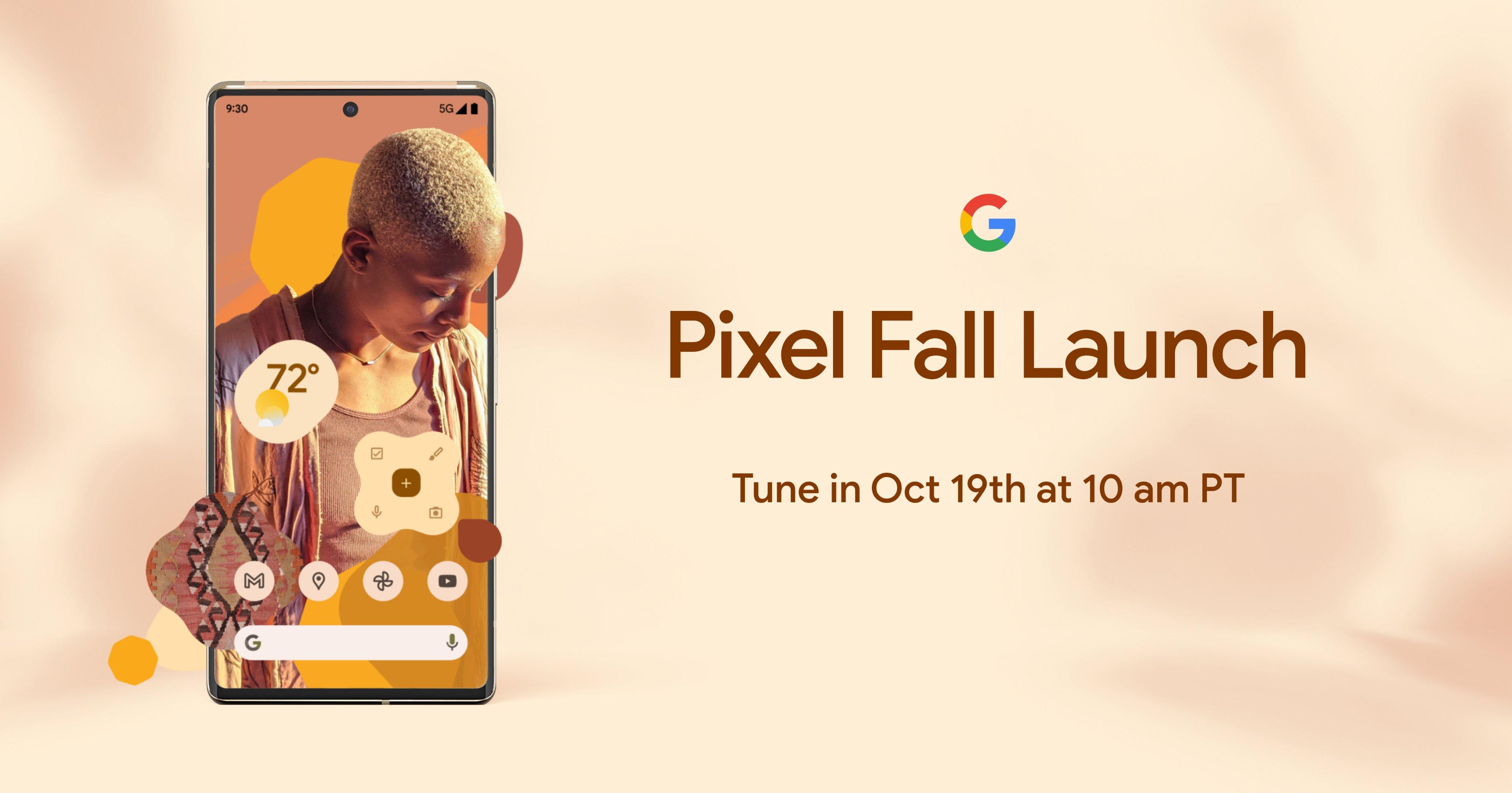 Pixel 6 event