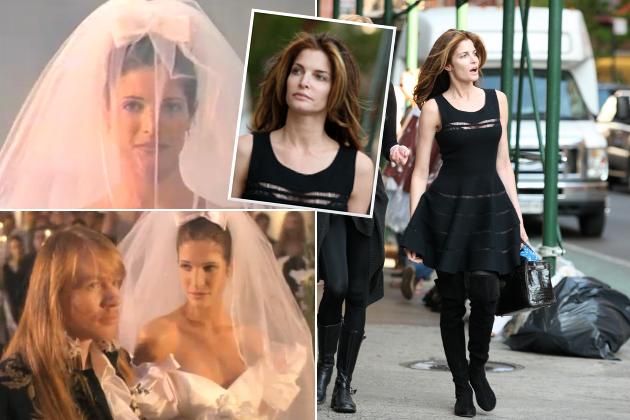 Stephanie Seymour 20 Jahre Nach November Rain So Sieht Die Braut Heute Aus