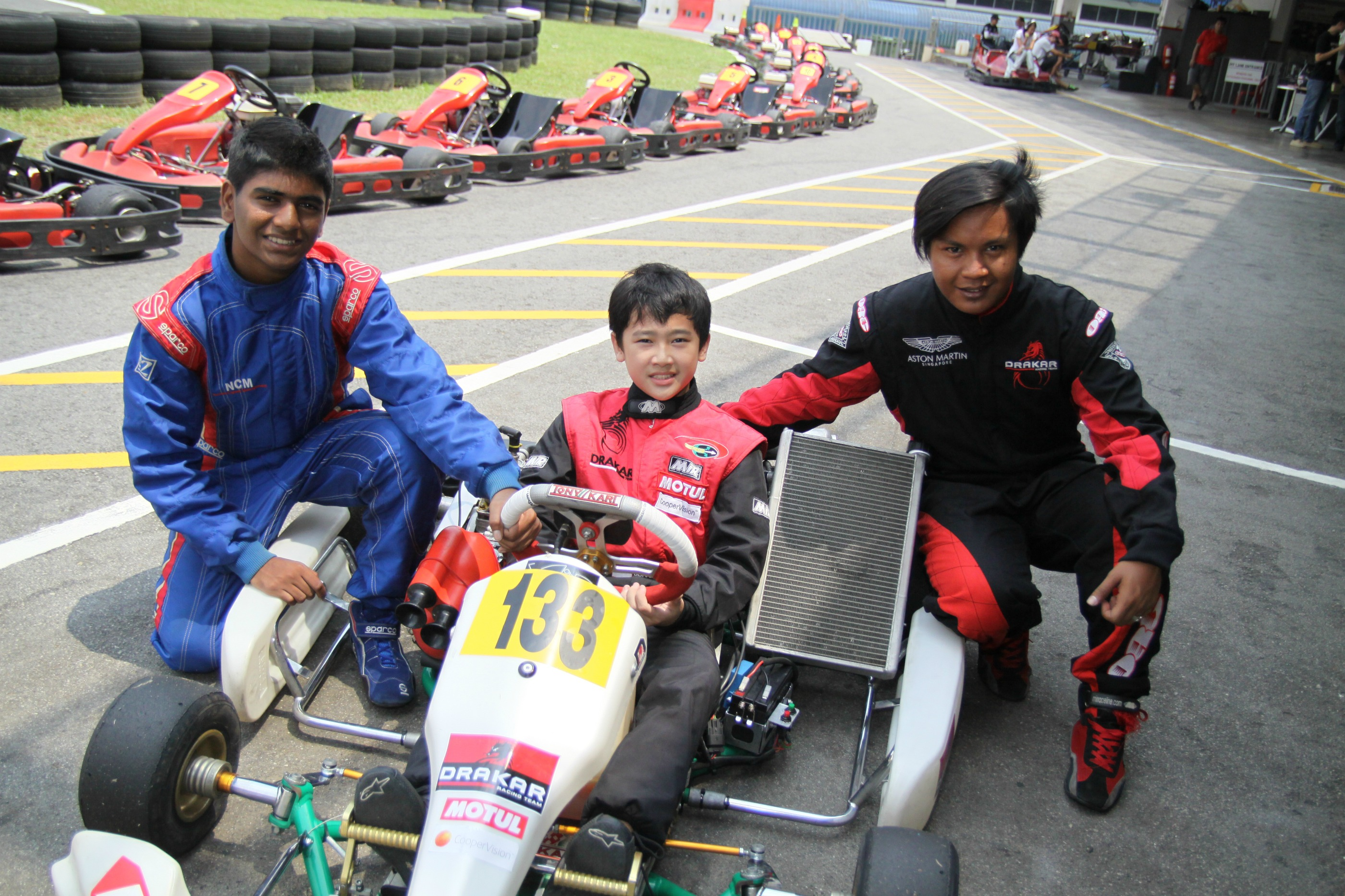 Will he be Singapore's first F1 driver?