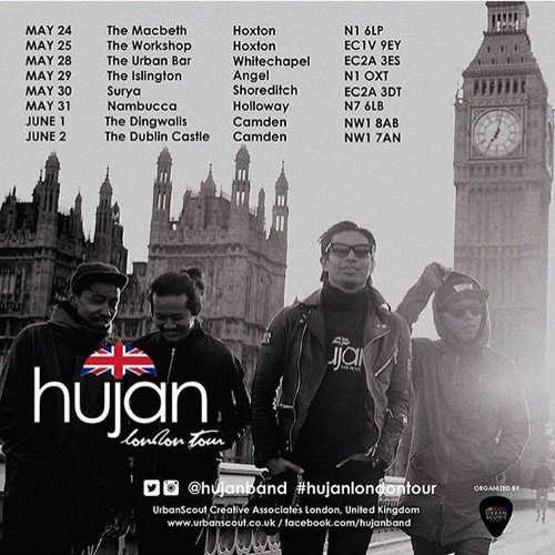 Malaysian Band Hujan Goes On Tour In London