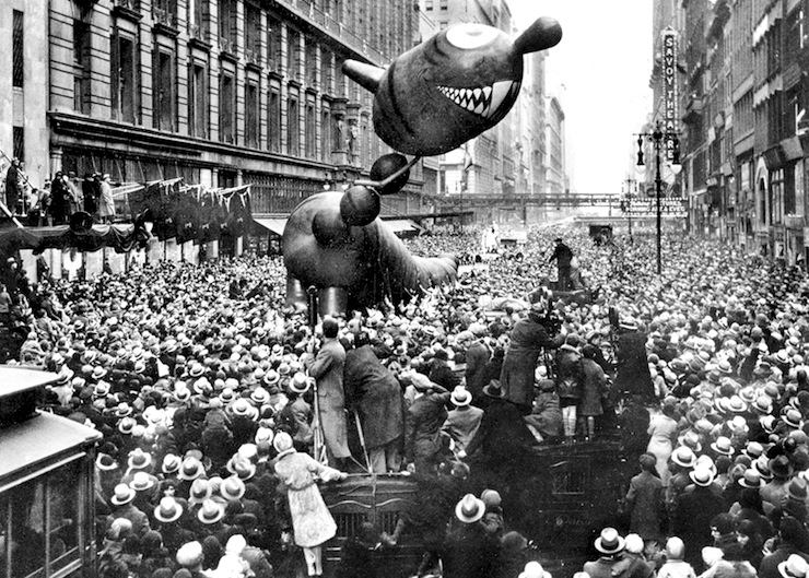 Nov. 27, 1924: First Macy's Thanksgiving Day Parade