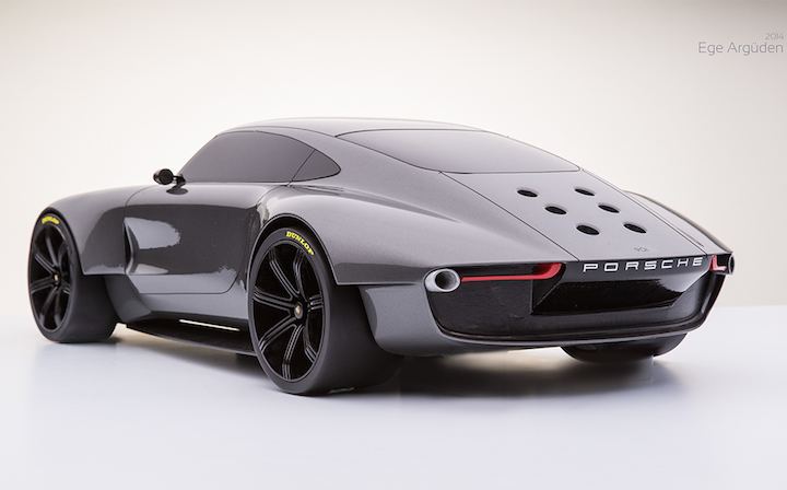 Porsche 901 Concept Looks Good From Any Angle