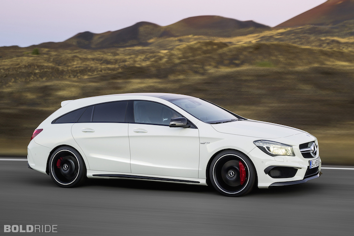 mercedes cla shooting brake is the wagon america needs. Black Bedroom Furniture Sets. Home Design Ideas