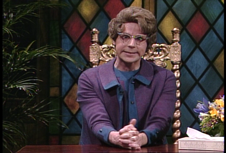 church lady Dana carvey made a surprise appearance on saturday night live in character as the church lady, with both taran killam's ted cruz and darrell hammond's.