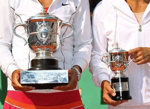 Oops French Open Officials Gave Runner Up The Winner S Trophy