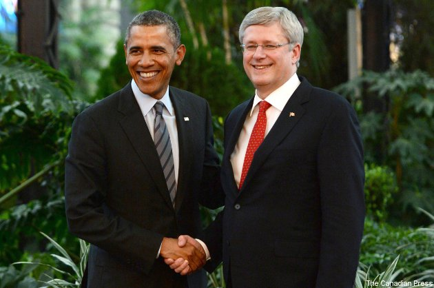 Obama and harper bet on hockey betting mad