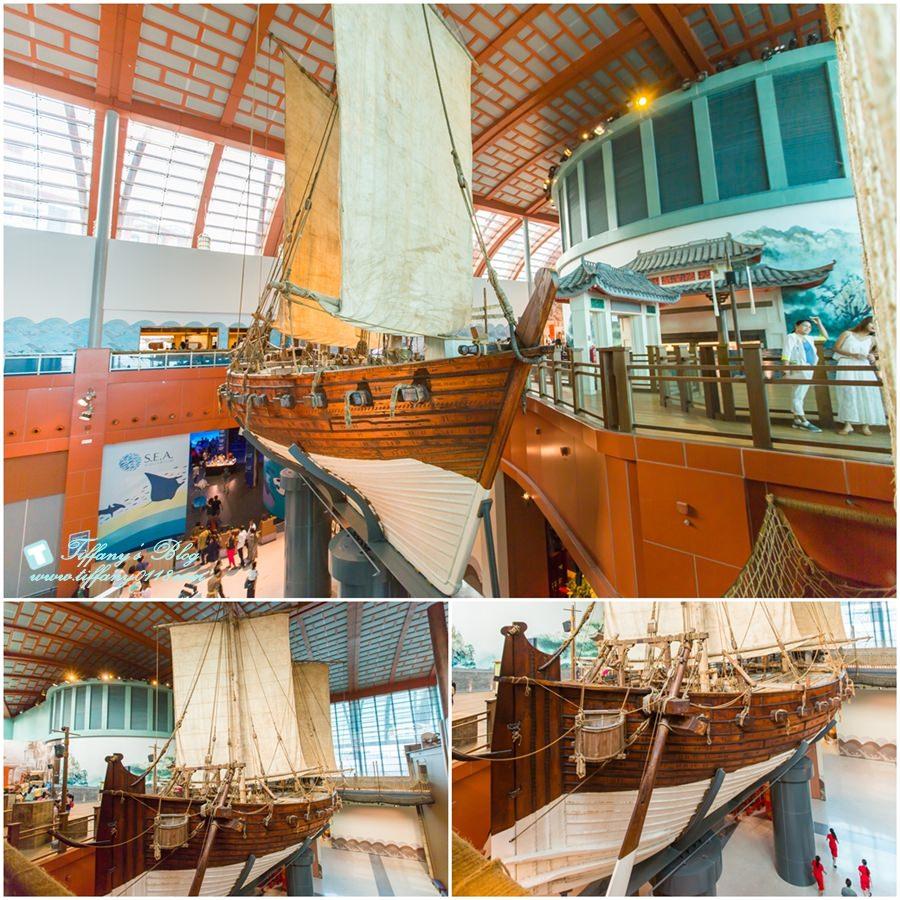 [新加坡自由行]聖淘沙名勝世界S.E.A.海洋館+海事博物館/超過10萬種海洋生物任妳看