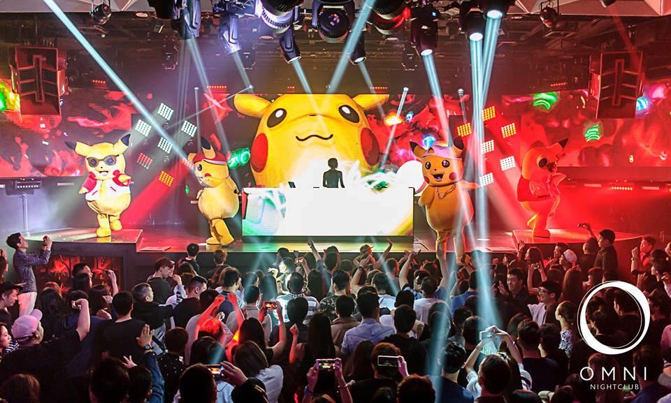 clubbing night in Taipei