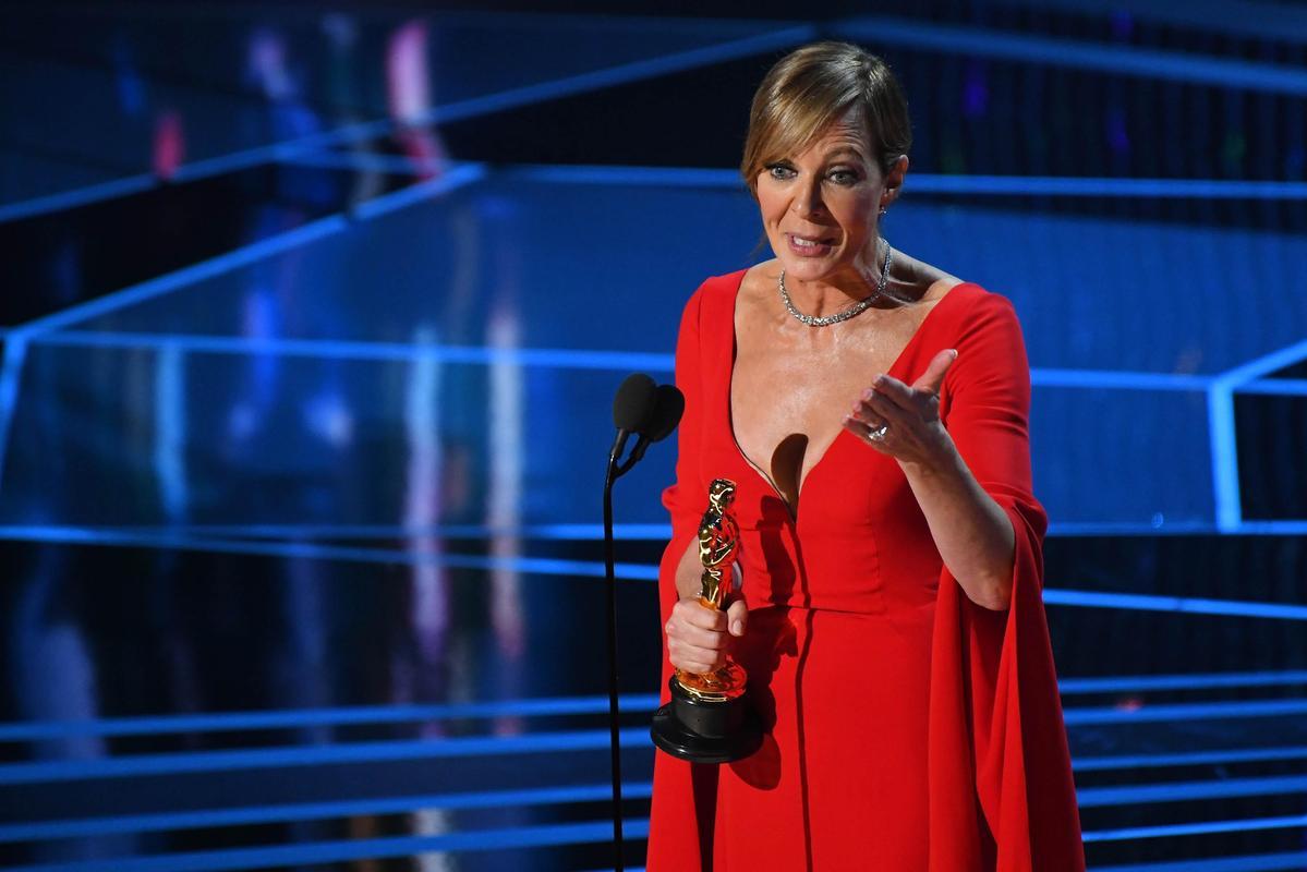 艾莉森珍妮(Allison Janney)以《老娘叫譚雅》奪得最佳女配角。(東方IC)