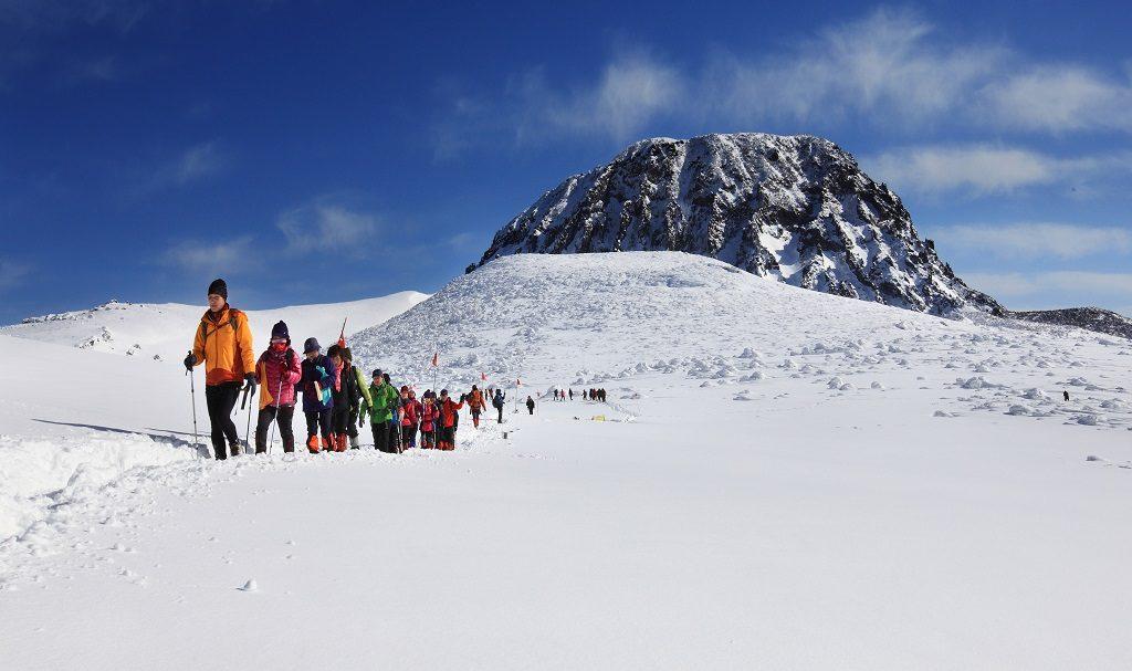 冬天銀白世界 圖片來源:濟州觀光公社
