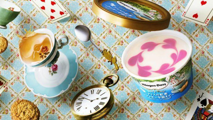 日本哈根達斯愛麗絲的紅茶