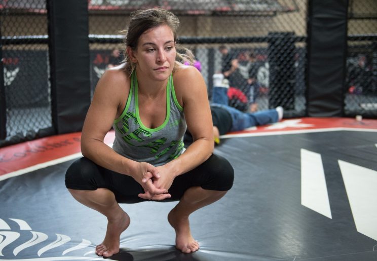 UFC women's bantamweight champion Miesha Tate holds an open gym day for the media at Xtreme Couture on June 27, 2016 in Las Vegas Nevada. (Photo by Brandon Magnus/Zuffa LLC/Zuffa LLC via Getty Images)