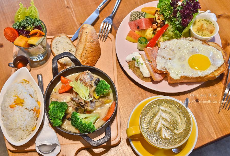 好堅果咖啡 菜單 台中早午餐 精誠商圈08