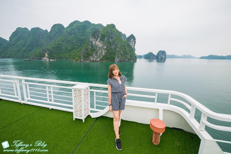 [越南旅遊]下龍灣Alisa艾莉莎公主號郵輪/五星級的移動villa帶妳暢遊下龍灣