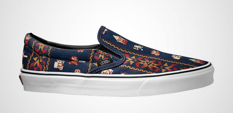 Nintendo and Vans teamed up to make the video game shoes of your ...