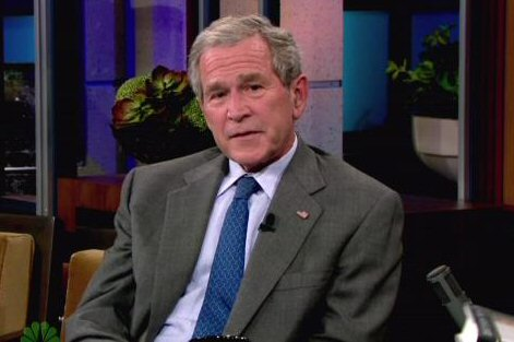 George W. Bush Set For 'The Tonight Show' Next Week