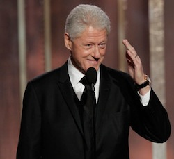 Steven Spielberg Orchestrated Bill Clinton's Surprise Golden Globes Appearance