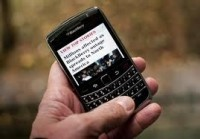 UPDATE: Research In Motion Shares Fall On Spending Fears For Blackberry 10