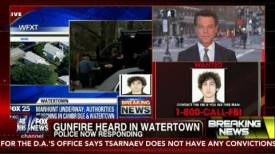 BOSTON MANHUNT ENDS: TV's Live Coverage