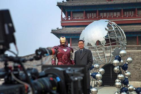 'Iron Man 3′ In Beijing
