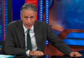 Jon Stewart Urges CNN To Stream Don King Over All Its Programs: Video