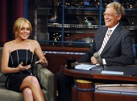Lindsay Lohan To Appear On Letterman
