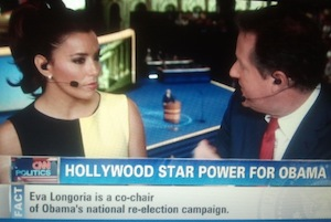 Eva Longoria Says She'll Be No Clint Eastwood At Democratic Convention