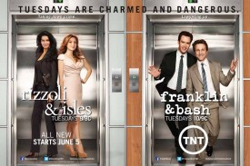 TNT's 'Rizzoli & Isles' Slightly Down, 'Franklin & Bash' Slightly Up In Return