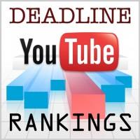 Deadline's YouTube Channel Rankings