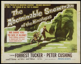 UK's Hammer To Reboot 'The Abominable Snowman'
