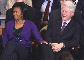 Michelle Obama & Bill Clinton Get Grammy Noms; Ellen DeGeneres, Rachel Maddow, 'Smash' & 'The Voice' Coaches Too