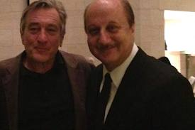 What Gift Do You Buy Robert De Niro? 'Silver Linings' Co-Star Anupam Kher Makes Short Film To Find Out