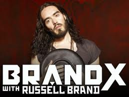 Russell Brand's FX Talk Show Goes Live
