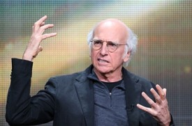 TCA: Larry David On Liev Schreiber's 'Clear History' Credit Omission, Another Season of 'Curb Your Enthusiasm'