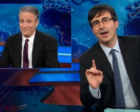 UPDATE: John Oliver's Farewell As 'Daily Show' Host Draws Lower Ratings: VIDEO