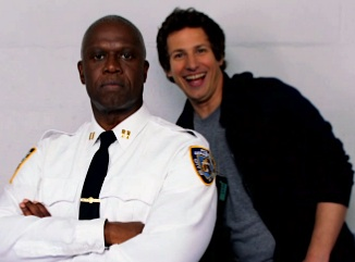 Exclusive Video: Fox's Brooklyn Nine-Nine Cops Mug for the Camera