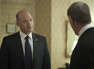 Eye on Emmy: Corey Stoll Votes Yea on House of Cards and the Movie-Like Netflix Experience