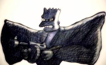 Exclusive Sneak Preview: The Simpsons Go Noir