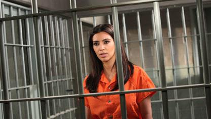 Kim Kardashian Behind Bars!