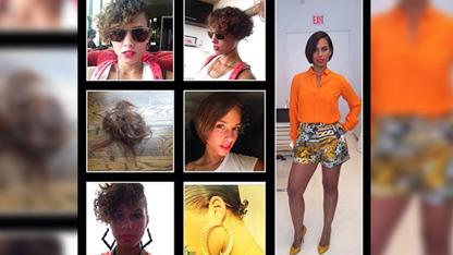 Alicia Keys' Drastic Haircut