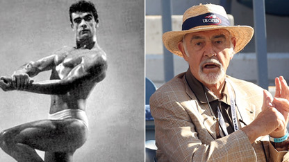 Flashback! Sean Connery in Mr. Universe Pageant