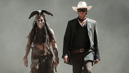 First Trailer: 'The Lone Ranger'