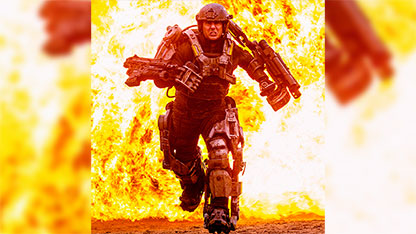 First Pic: Tom Cruise Rages in a Machine