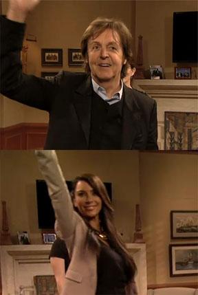 '30 Rock' Live Cameos: East Coast Gets McCartney, West Coast Gets a Kardashian (Video)