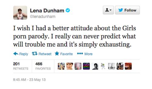 3 Reasons Lena Dunham Can't Laugh Off 'Girls' Porn Parody